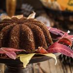 Flourless pumpkin coconut bread with spiced pecan pumpkin butter