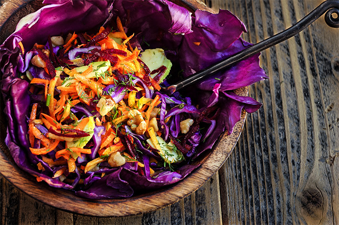 Fall superfood detox salad