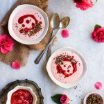 Strawberries and cream breakfast bowls {coconut + caramelized quinoa}