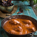 Chocolate hazelnut chicken mole