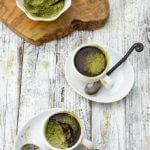 Matcha chocolate rice pudding {jade rice + coconut milk}