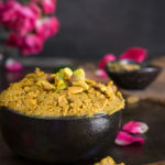 Pistachio honey rose butter