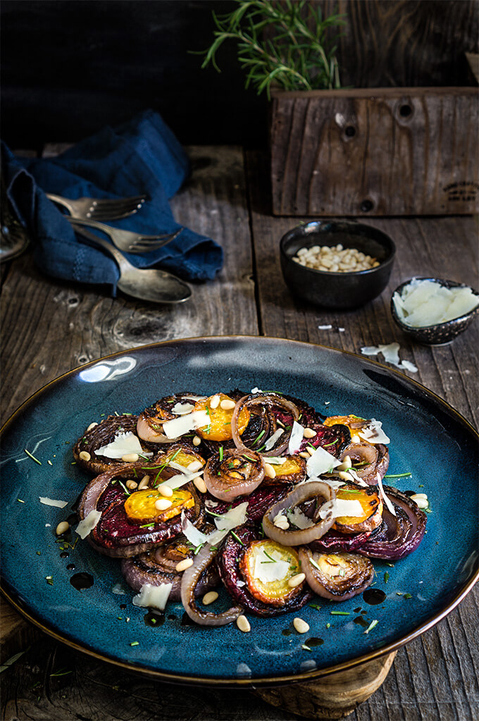 onion salad recipes dishmaps roasted beet and red onion salad red ...