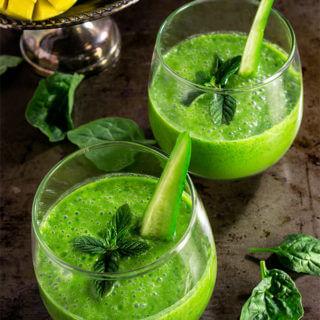 Skinny green smoothie