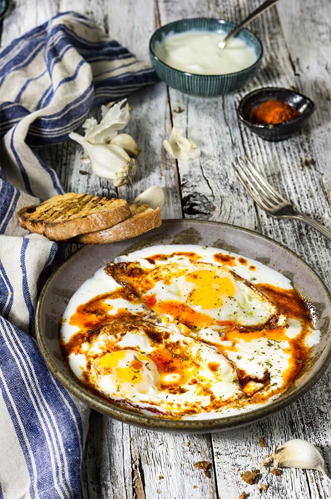 eggs-garlicky-yogurt-butter-paprika