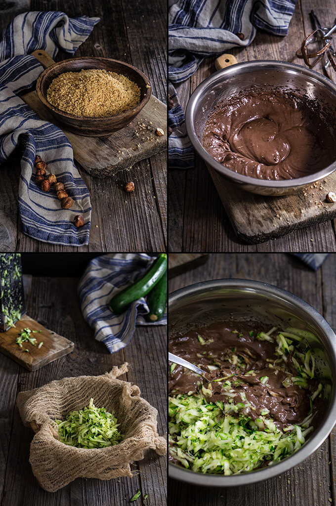 Chocolate hazelnut zucchini bread - Viktoria's Table