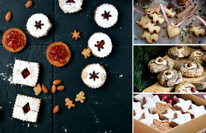 31 Christmas cookies from around the world | www.viktoriastable.com
