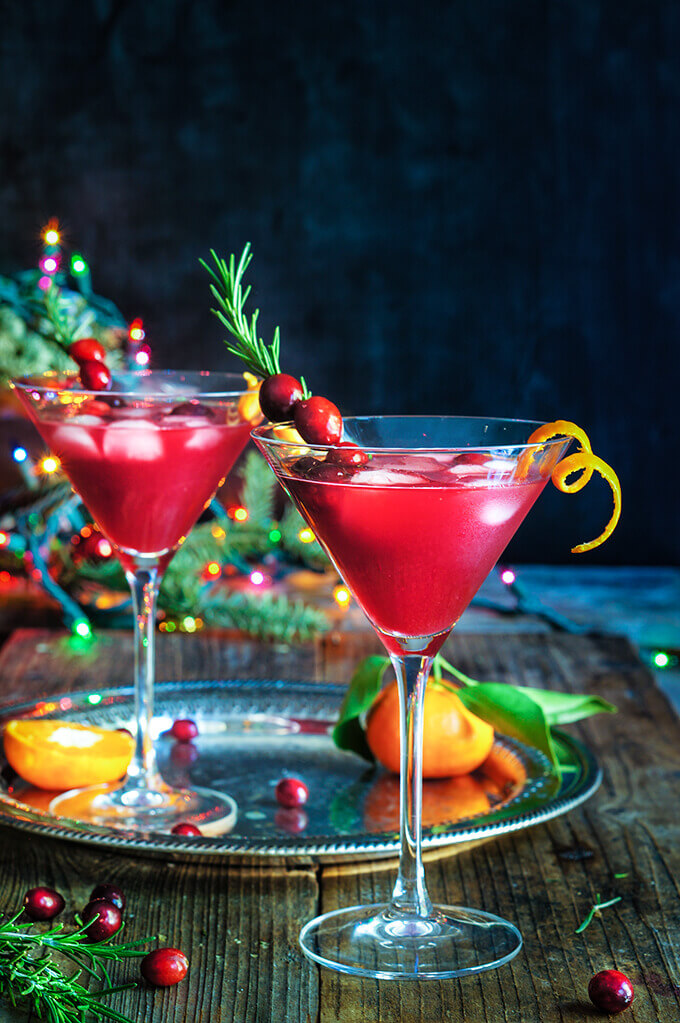 Cranberry rosemary citrus martini – bring on the holiday spirit by ...