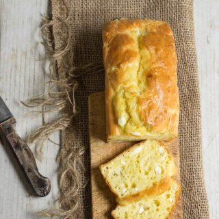 Feta cheese quick bread