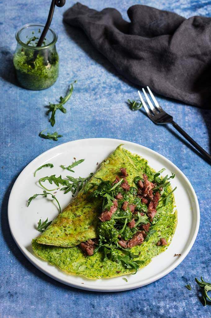 Green eggs and corned beef | www.viktoriastable.com