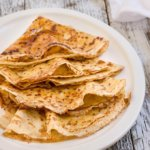 Crispy caramelized crepes - classic French crepes, crisped up with a thin layer of buttery, salted caramel on one side - they are simply too good to miss. | www.viktoriastable.com