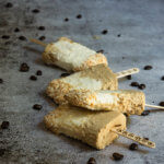 Coffee coconut fudgsicles