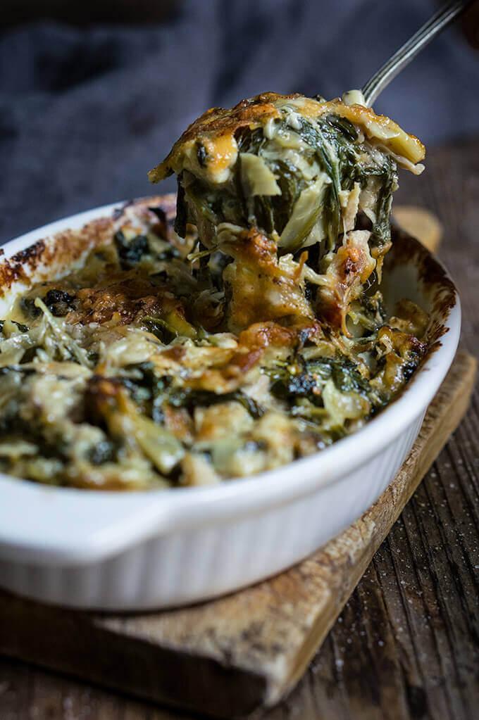 Spinach Artichoke Chicken Casserole Thanksgiving